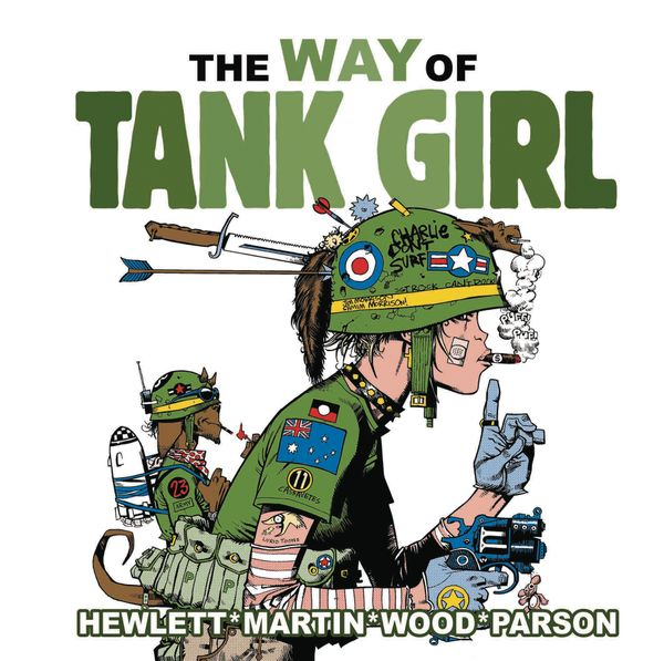 [Cover Art image for Tank Girl: The Way of Tank Girl]