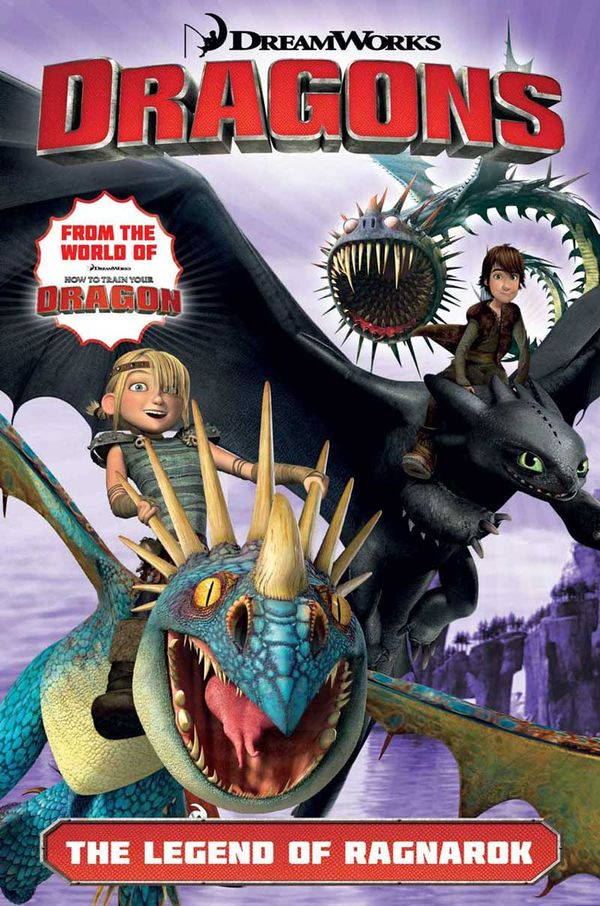 [Cover Art image for Dragons Riders of Berk: The Legend of Ragnarok]