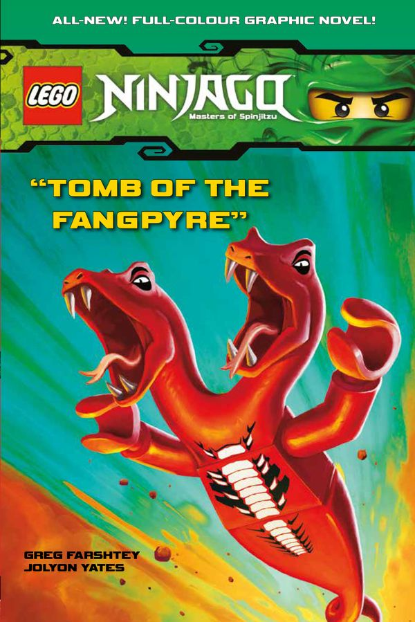 [Cover Art image for Lego Ninjago: Tomb of the Fangpyre]