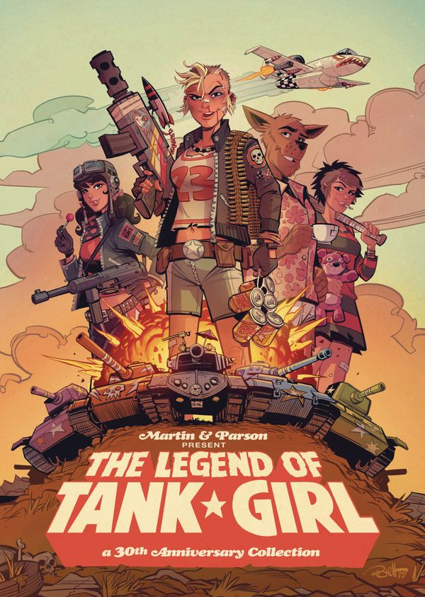 [Cover Art image for Tank Girl: The Legend of Tank Girl]