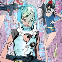 [Image for Tank Girl Co-Creator Alan Martin Teams Up With Debut Artist For All-New Series!]