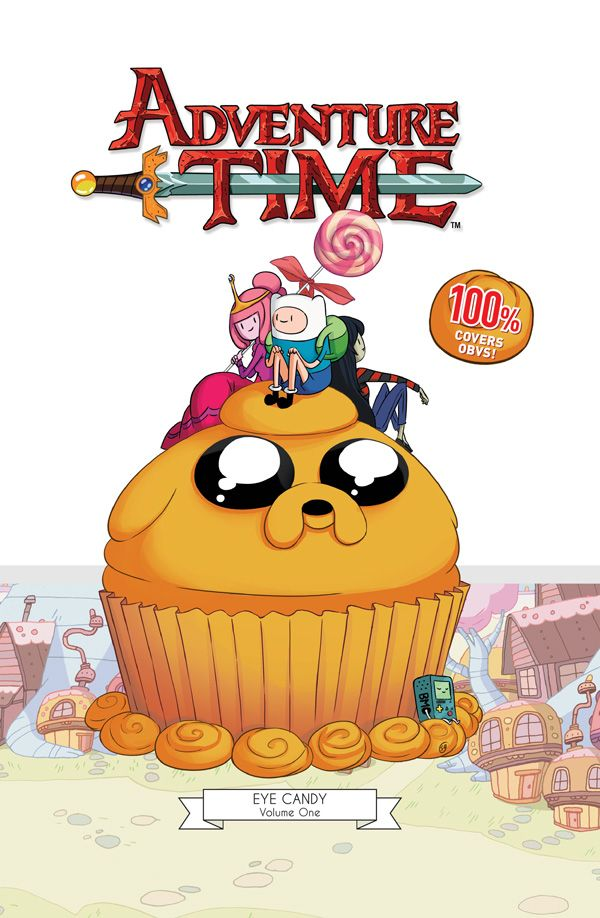 [Cover Art image for Adventure Time: Eye Candy Cover Gallery]