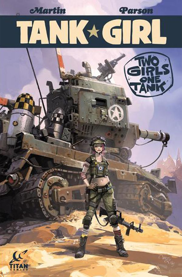 [Cover Art image for Tank Girl: Two Girls One Tank Forbidden Planet EX]