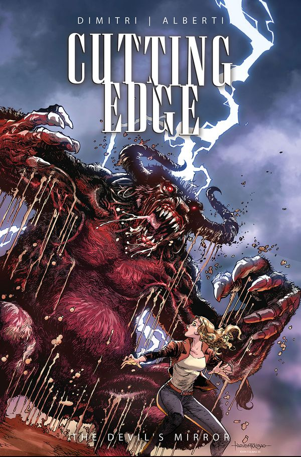[Cover Art image for Cutting Edge: The Devil's Mirror]