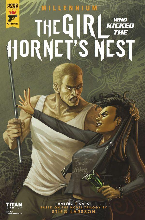 [Cover Art image for The Girl Who Kicked the Hornet's Nest - Millennium]