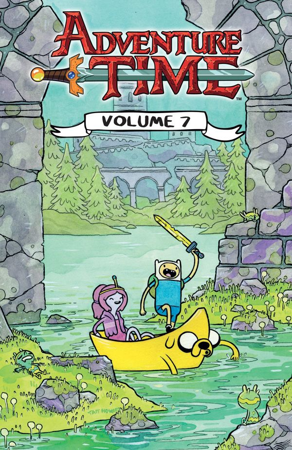 [Cover Art image for Adventure Time Vol. 7]