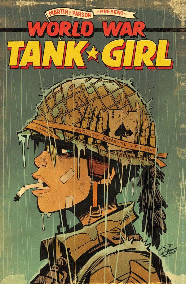 [Cover Art image for Tank Girl: World War Tank Girl]