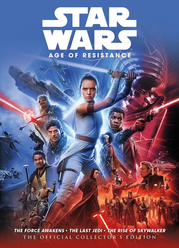 [Cover Art image for Star Wars: The Age Of Resistance The Official Collector's Edition Book]