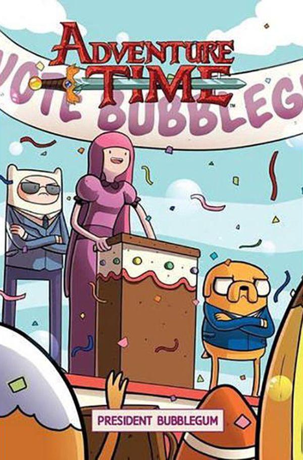 [Cover Art image for Adventure Time: President Bubblegum]