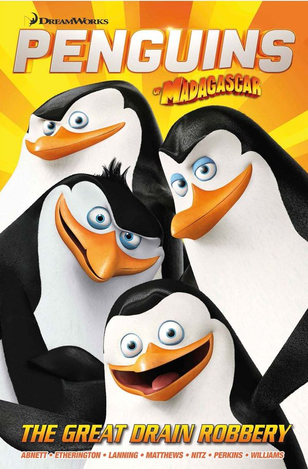 [Cover Art image for Penguins Of Madagascar: The Great Train Robbery]