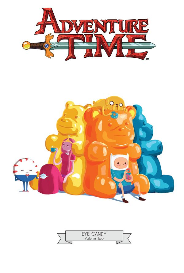 [Cover Art image for Adventure Time: Eye Candy Vol. 2 Mathematical Edition]