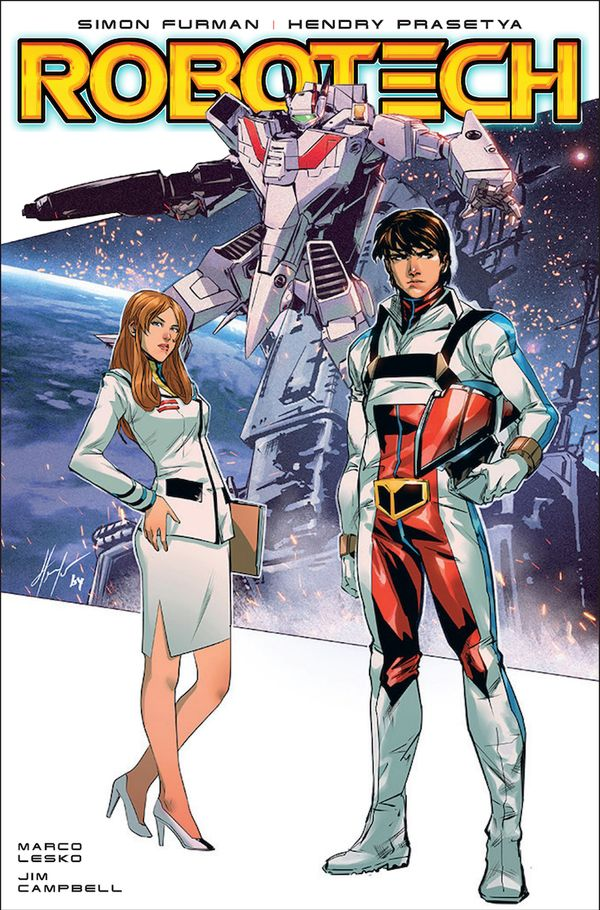 [Cover Art image for Robotech]