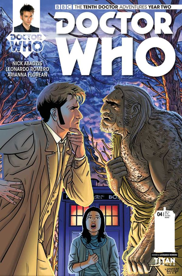 [Cover Art image for Doctor Who : The Tenth Doctor]