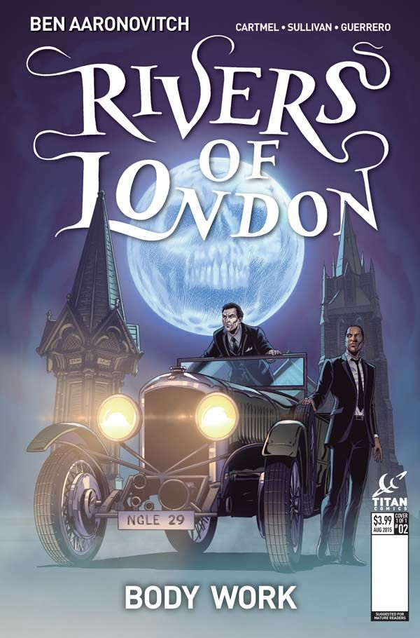 [Cover Art image for Rivers Of London: Body Work]