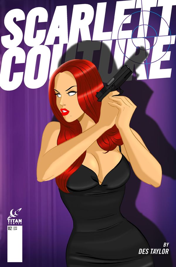 [Cover Art image for Scarlett Couture]