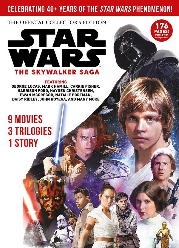 [Cover Art image for Star Wars: The Skywalker Saga]