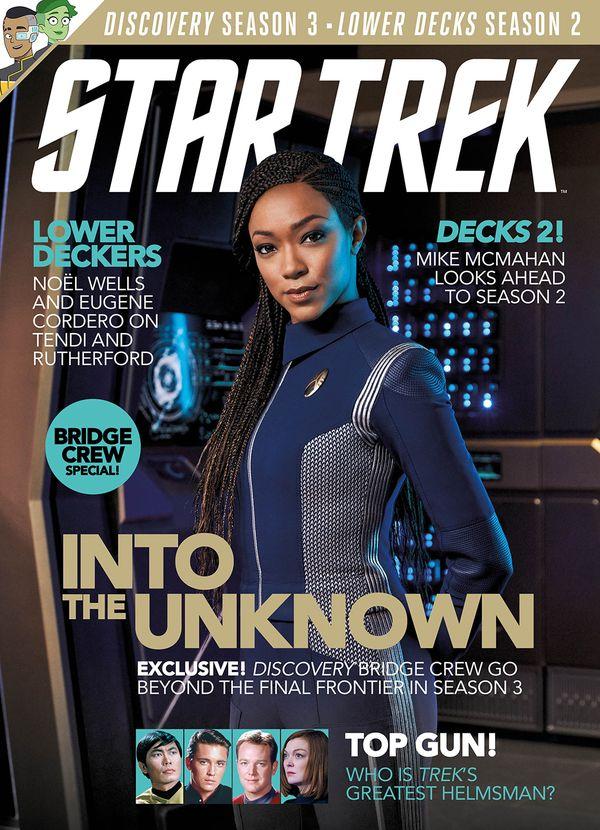 [Cover Art image for Star Trek Magazine #77]