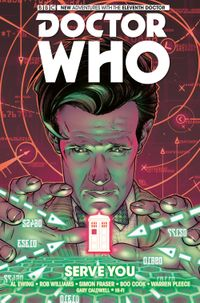 [Image for Doctor Who: The Eleventh Doctor Vol. 2: Serve You]