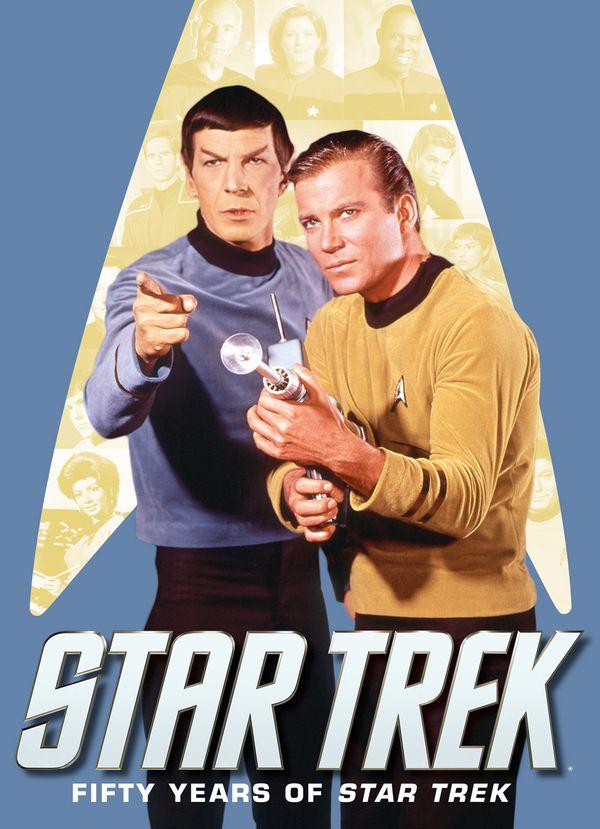 [Cover Art image for Star Trek: Fifty Years of Star Trek]