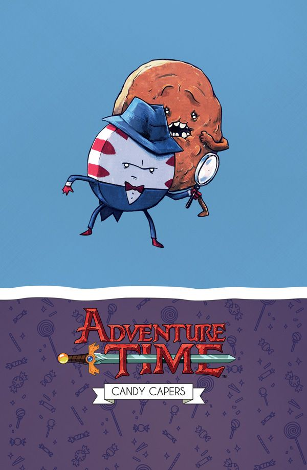 [Cover Art image for Adventure Time: Candy Capers Mathematical Edition]