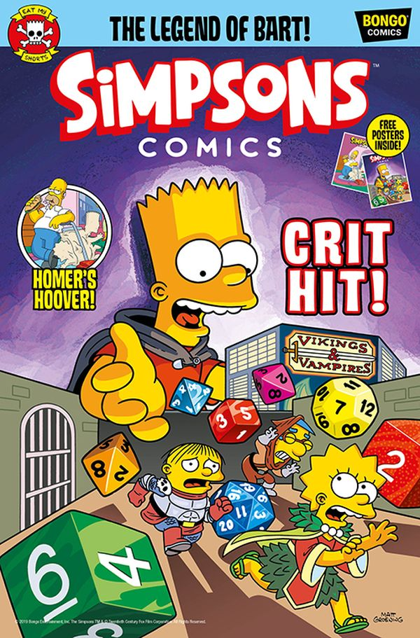[Cover Art image for Simpsons Comic #23]