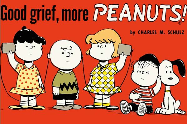 [Cover Art image for Peanuts: Good Grief, More Peanuts]