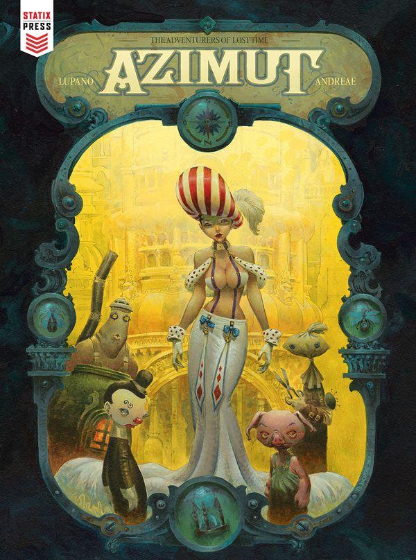 [Cover Art image for Azimut]