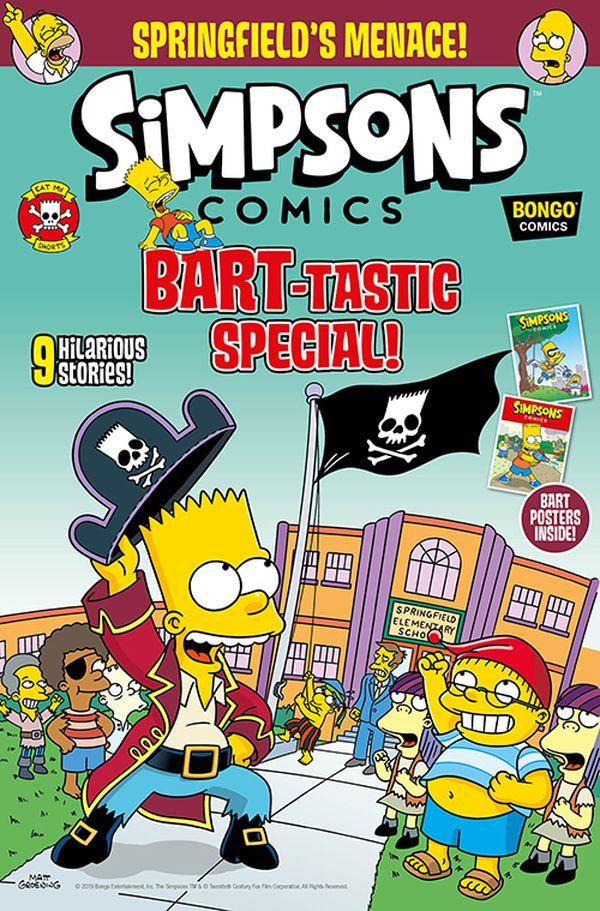 [Cover Art image for Simpsons Comic #25]