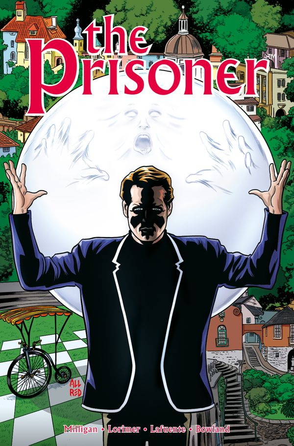 [Cover Art image for The Prisoner: The Uncertainty Machine]