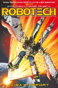 [Image for Robotech: Lisa's Report]