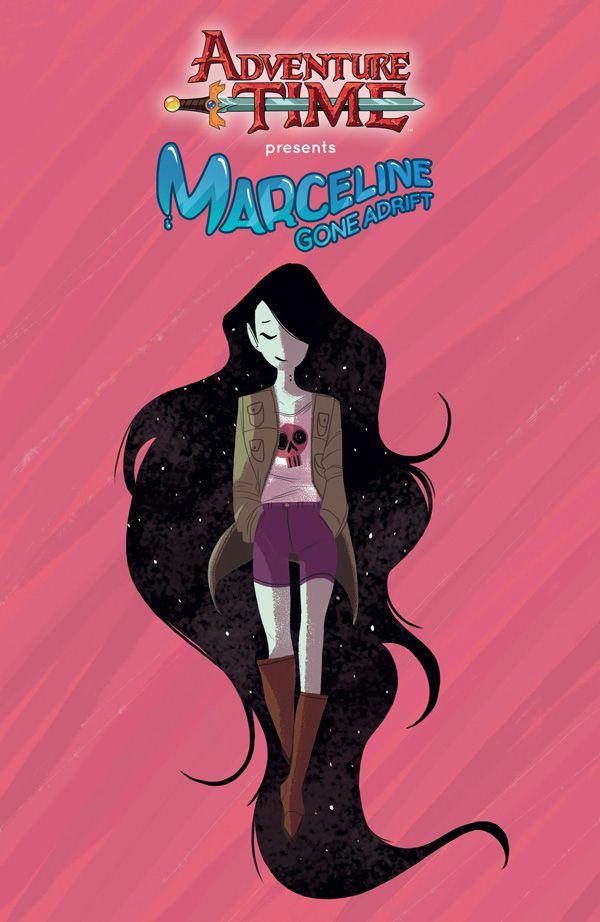 [Cover Art image for Adventure Time: Marceline Gone Adrift]