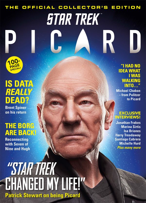[Cover Art image for Star Trek: Picard - Official Collector's Edition]