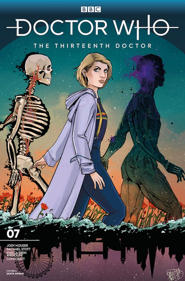 [Cover Art image for Doctor Who: The Thirteenth Doctor]