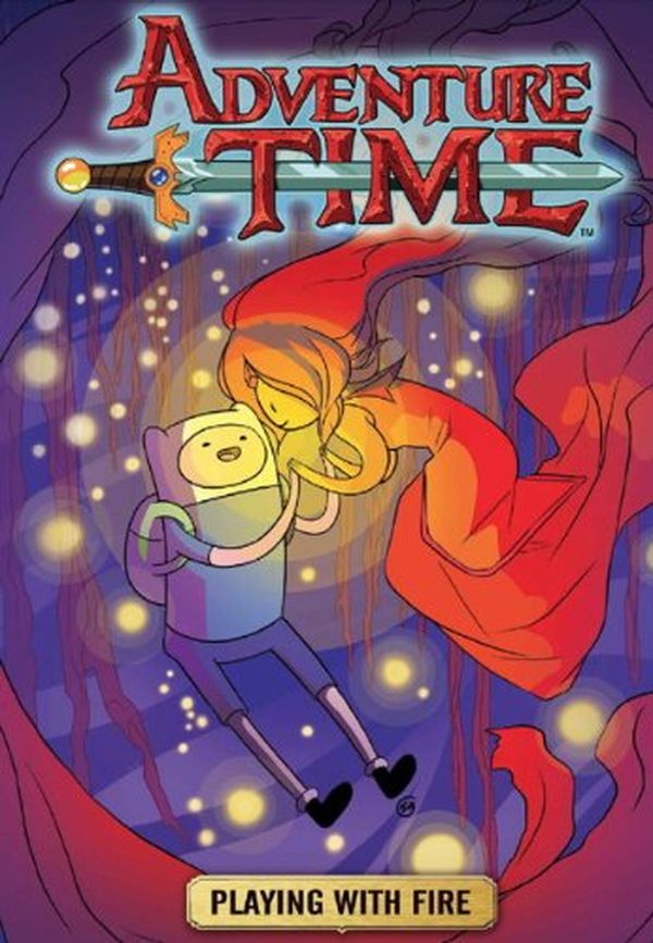 [Cover Art image for Adventure Time: Playing With Fire]