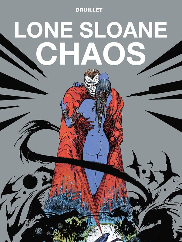[Cover Art image for Lone Sloane: Chaos]