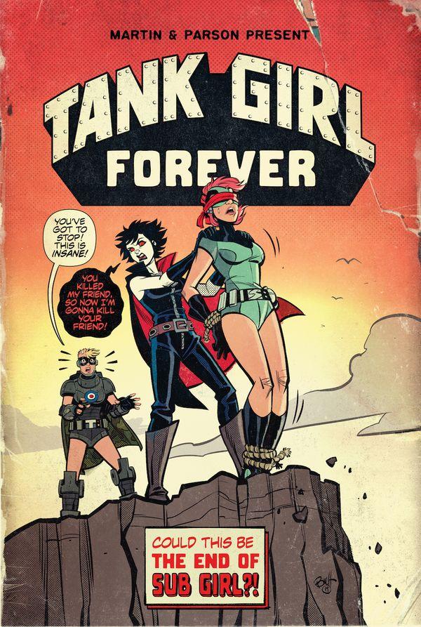 [Cover Art image for Tank Girl Forever]
