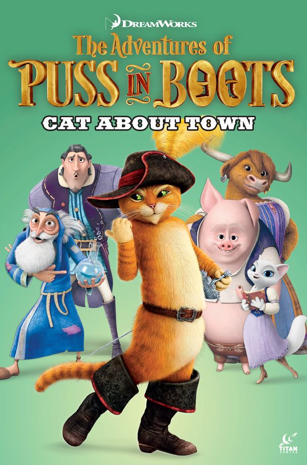 [Cover Art image for Puss in Boots: Cat About Town]