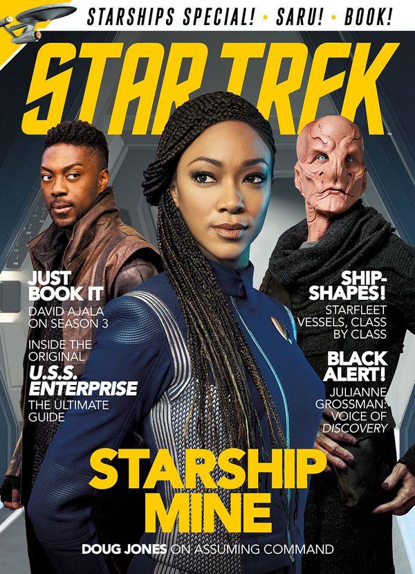 [Cover Art image for Star Trek Magazine #78]