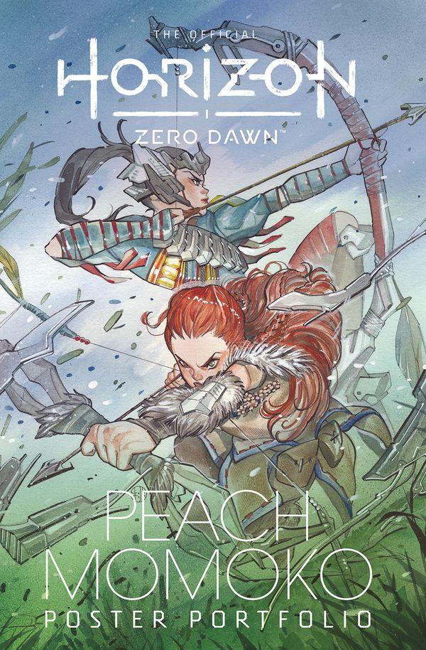 [Cover Art image for The Official Horizon Zero Dawn Peach Momoko Poster Portfolio]