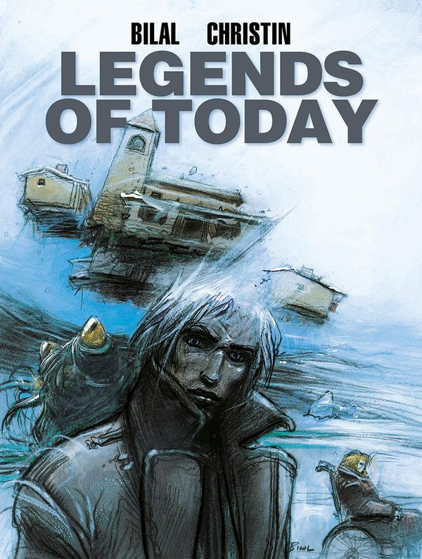[Cover Art image for Enki Bilal's Legends of Today]