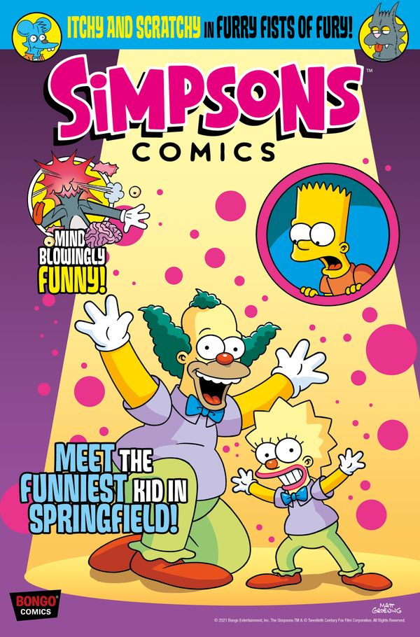 [Cover Art image for Simpsons Comics #36]