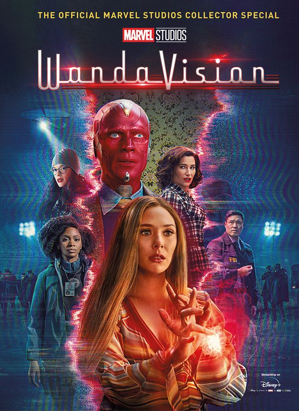 [Cover Art image for Marvel's Wandavision Collector's Special]