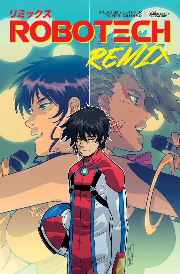 [Cover Art image for Robotech Remix]