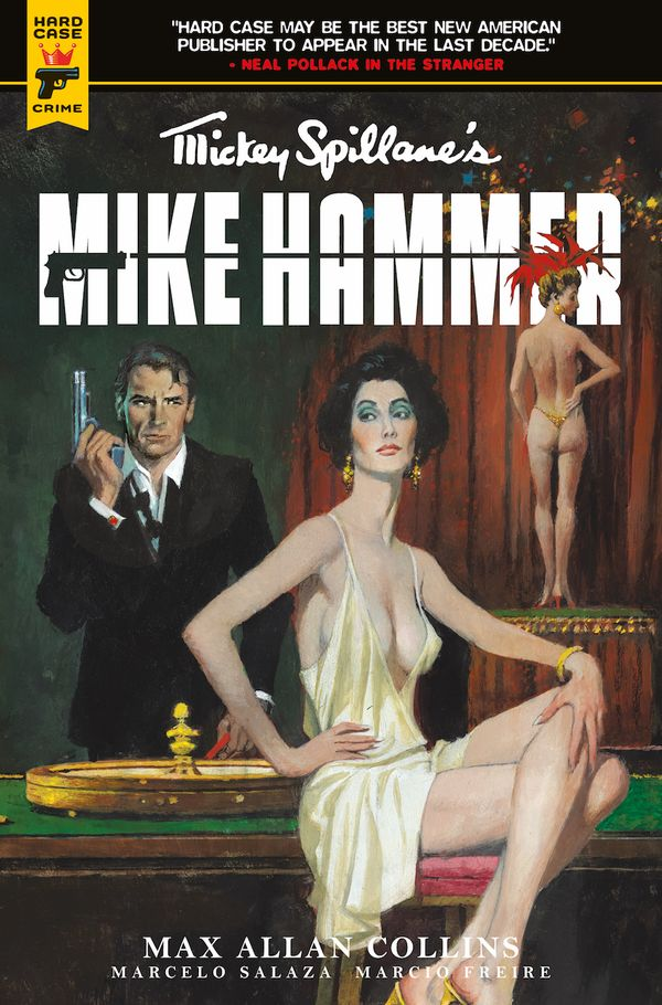 [Cover Art image for Mickey Spillane's Mike Hammer: The Night I Died TP]