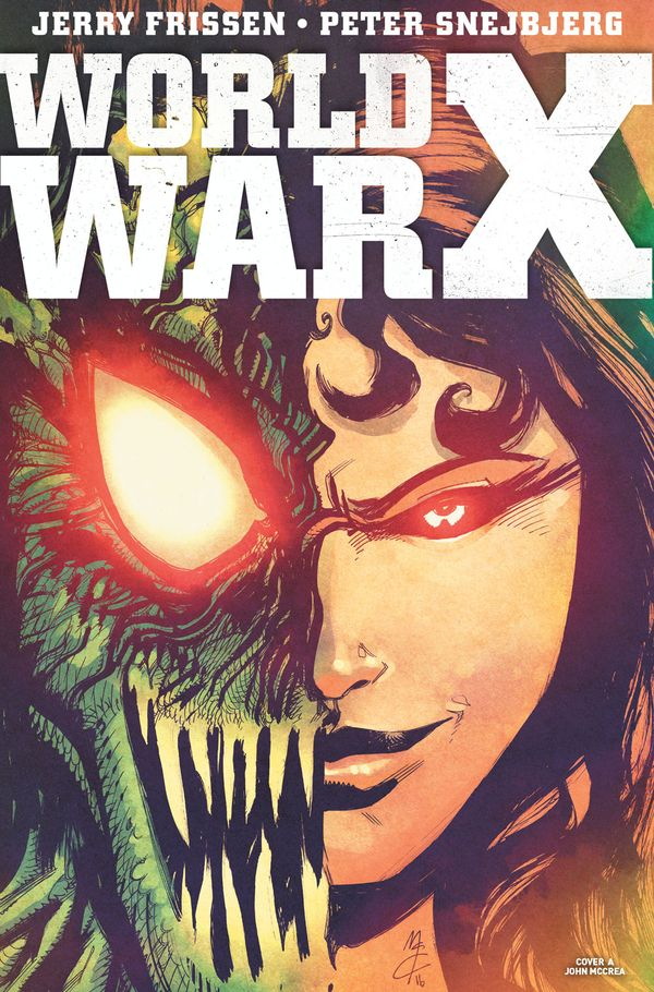[Cover Art image for World War X]