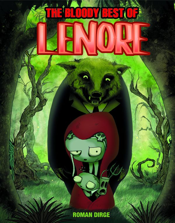 [Cover Art image for The Bloody Best of Lenore]