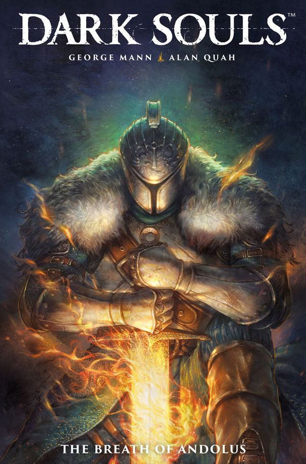 [Cover Art image for Dark Souls Vol. 1: The Breath of Andolus]