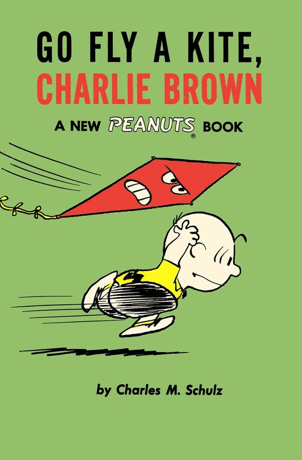 [Cover Art image for Peanuts: Go Fly A Kite, Charlie Brown]