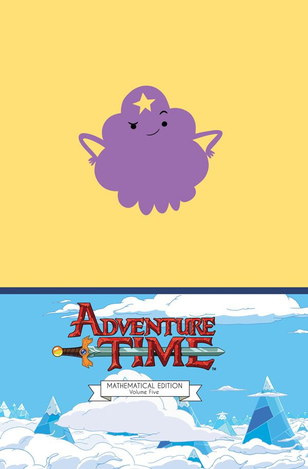 [Cover Art image for Adventure Time Vol. 5 Mathematical Edition]