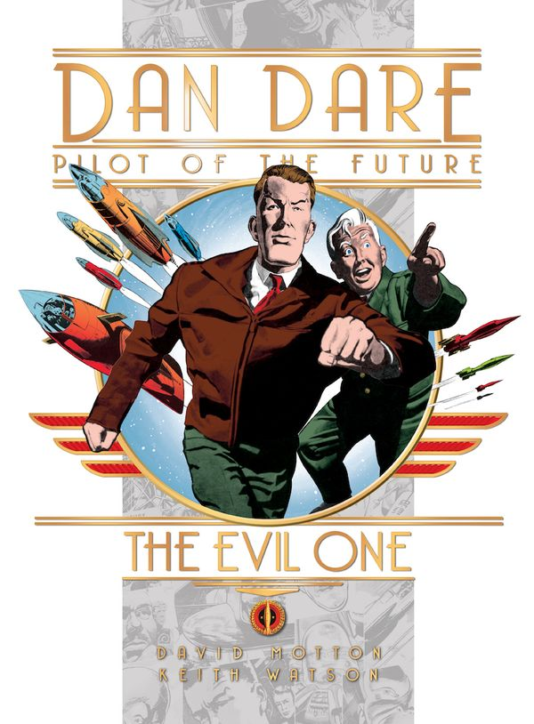 [Cover Art image for Dan Dare: The Evil One]